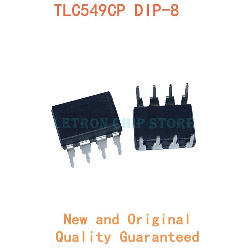 10 pces tlc549 dip8 tlc549cp dip-8 tlc549c dip novo e original chipset ic
