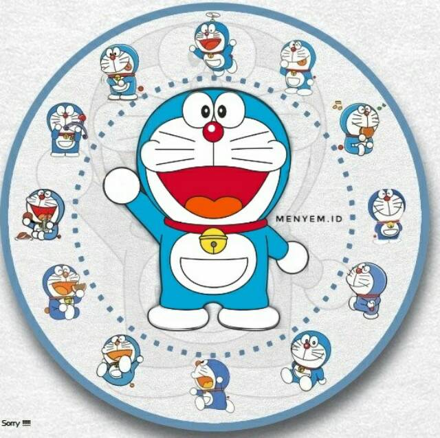 Background Jam Doraemon - Allwallpaper