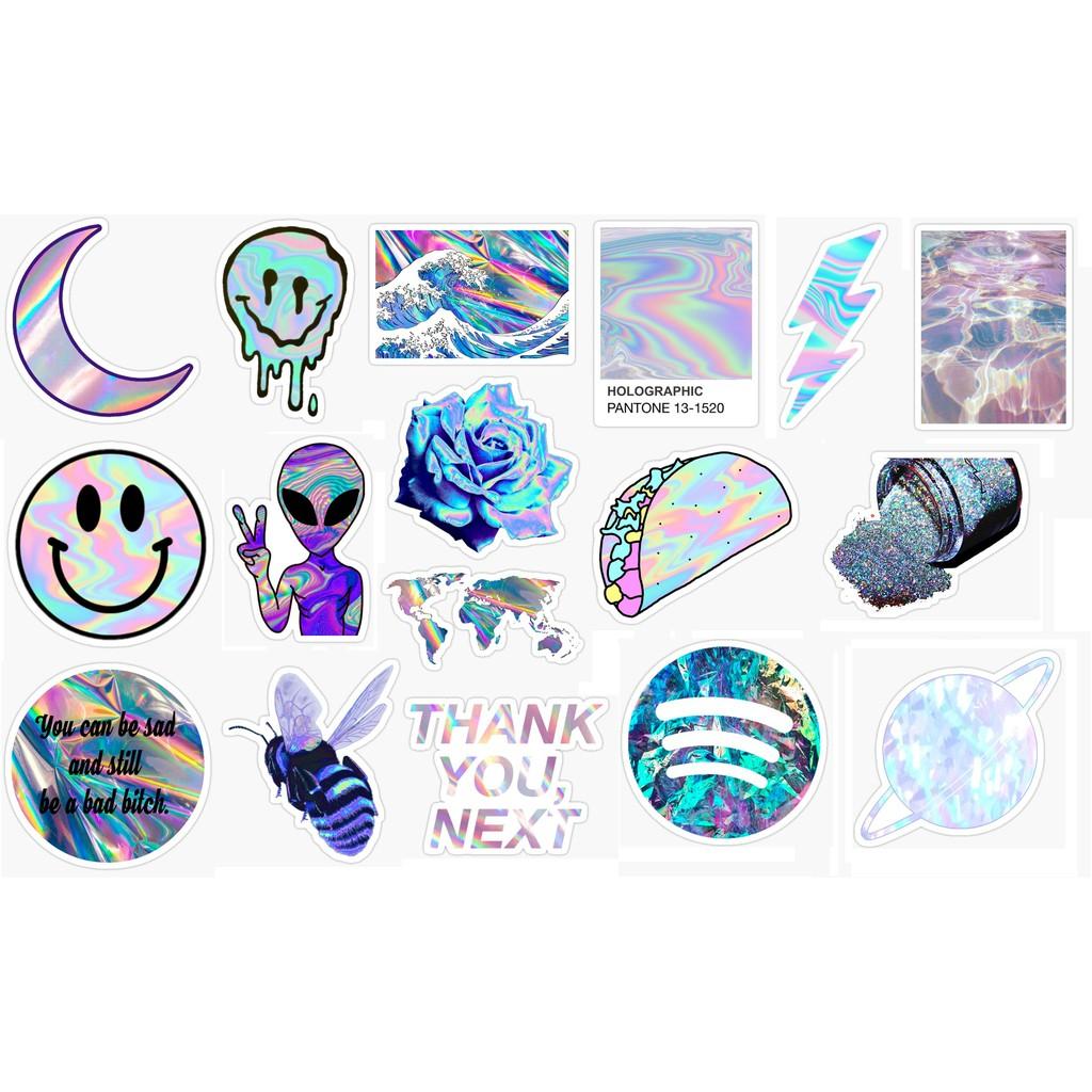 Hologram Sticker Pack Shopee Indonesia