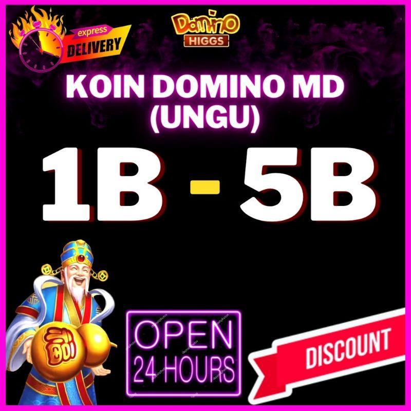 [AGEN MD RESMI] Koin / Chips / Chip / Cip Game Domino Higgs / Island Ungu dan Emas higs/higg/hig