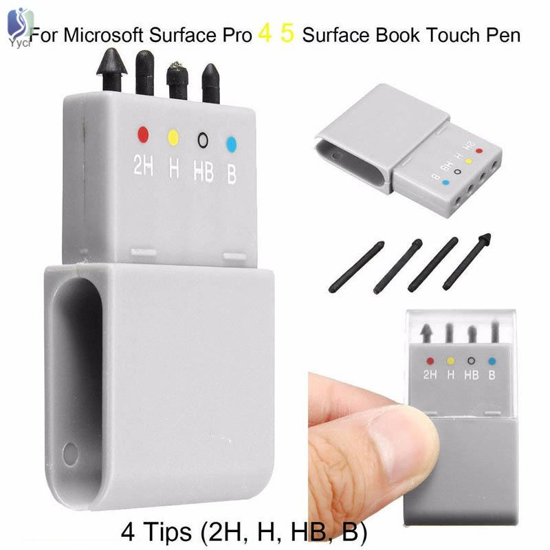 Replacement Tip Refill 2H H HB B for Microsoft Surface Pro 4//5 Touch Pen Stylus