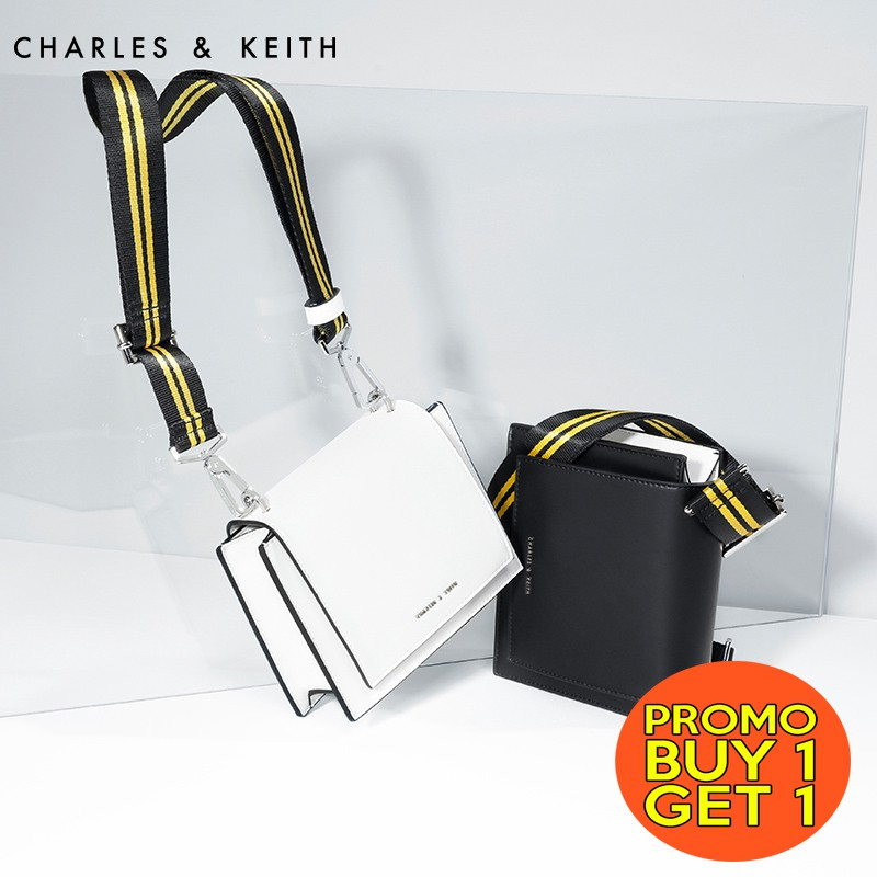 Charles and keith rope trimming clutch wallet  815fca30d1