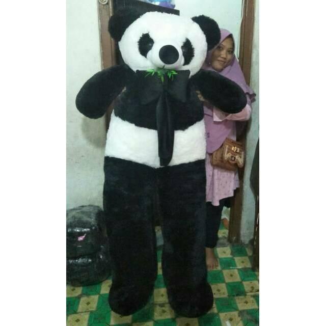 super big jumbo panda 150 cm setinggi orang dewasa  72e92fb79c