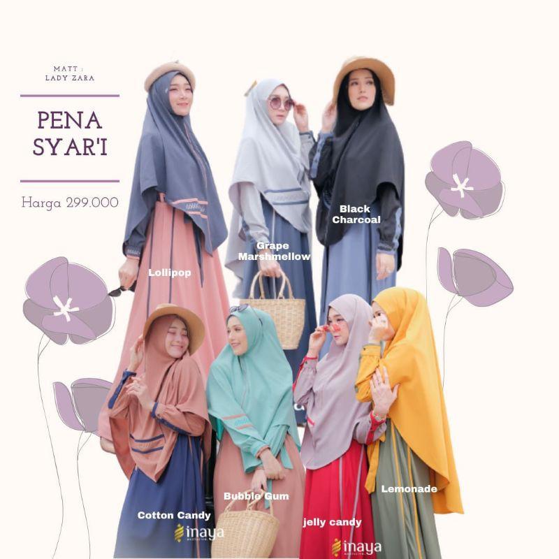 Gamis Pena Syar I By Inaya Distributor Resmi Inaya Jember Shopee Indonesia