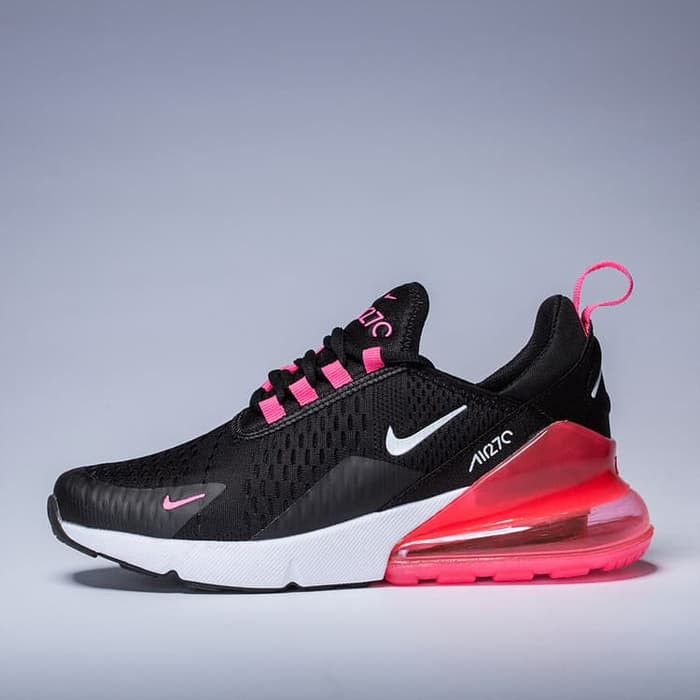 Ad 4912 Sepatu Nike Air Max 270 Black White Pink Airmax 270 Black Pink Women Shopee Indonesia