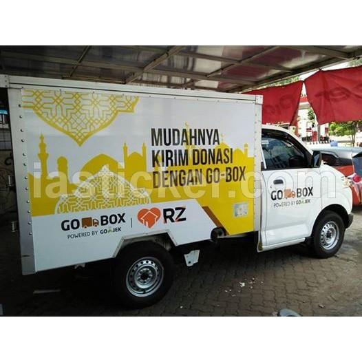 Sticker Logo Mobil Box Shopee Indonesia
