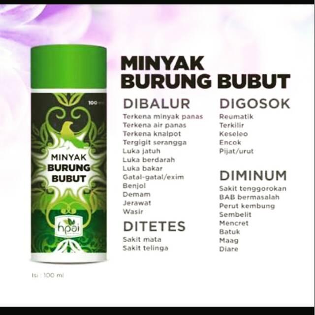 Minyak Burung Bubut Minyak Herba Sinergi Shopee Indonesia