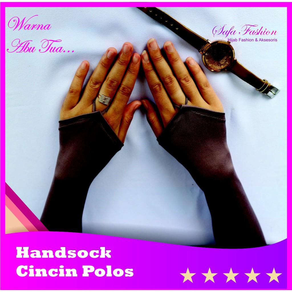 Handsock Jempol Polos Manset Fingerless Jersey Deker. Source · HANDSOCK RING POLOS ABU .