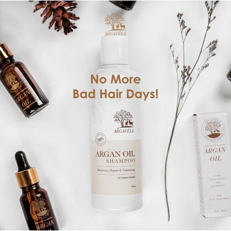 ARGAVELL ARGAN Oil Shampoo 240ml/Shampoo herbal / SHAMPOO ARGAVELL