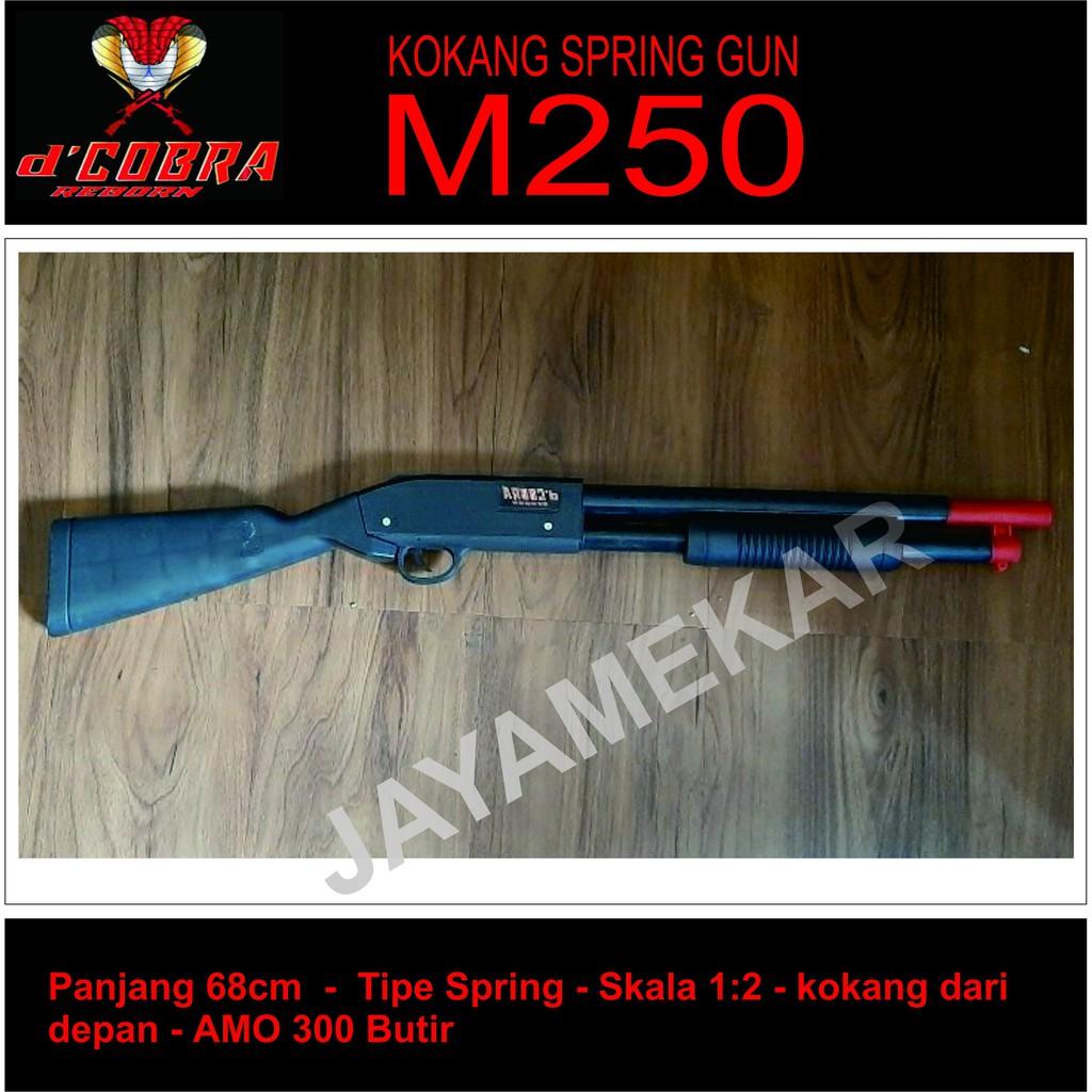 Mainan Anak Mainan Tembakan Spring D Cobra Shotgun Johnson Sniper Ff Pubg Shopee Indonesia