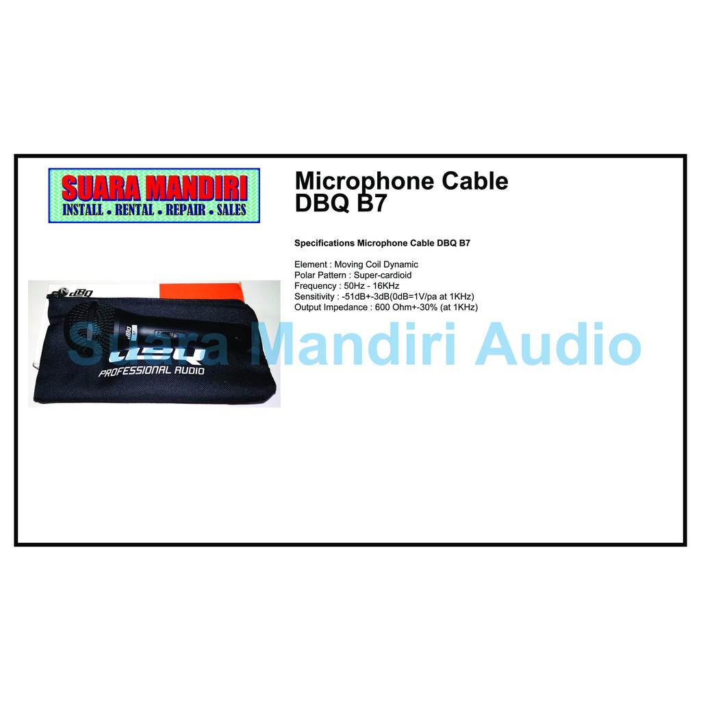 Microphone Cable DBQ B7