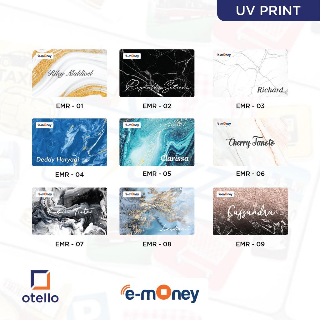Kartu E-Money Marble | Kartu eMoney Marmer | Custom eToll ...