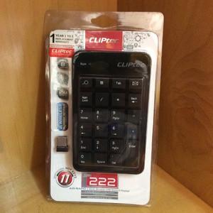 Keyboard Numeric Wireless Cliptec Rzk222
