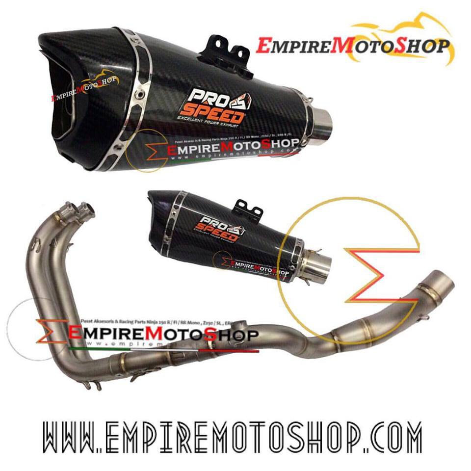 Knalpot Yoshimura Usa R77 Ninja 250 Fi Z250 Fullsystem Original Prospeed Silver Shark N250fi Z250fi Shopee Indonesia