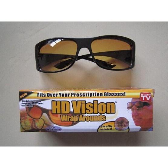 Jual Kacamata Anti Silau Night View Glasess Vision 2 Pcs 1 Siang 1 Malam Murah |