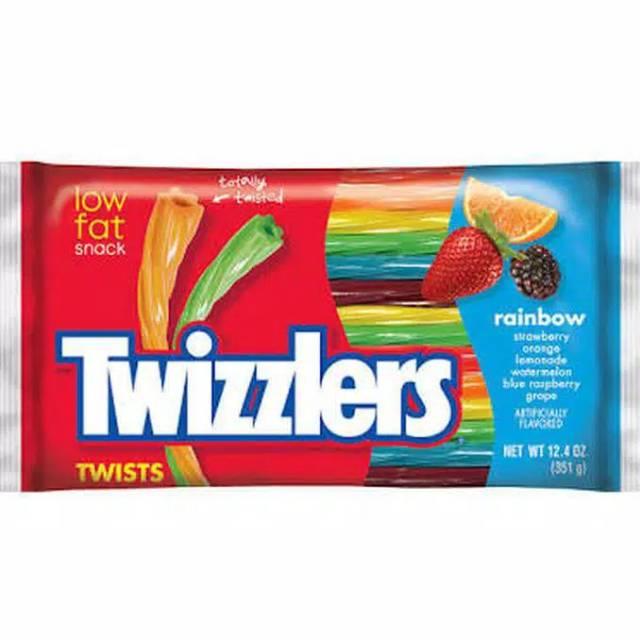 Twizzlers Rainbow twists low fat jelly