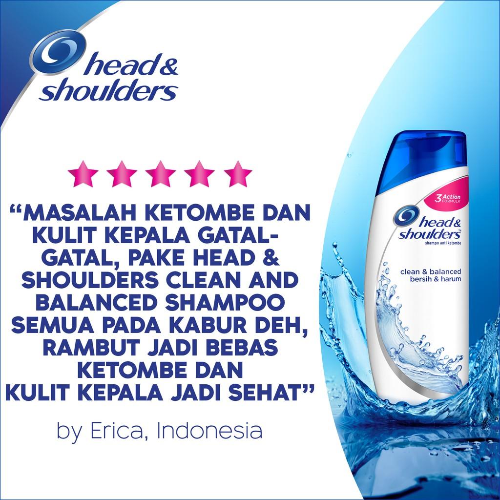 Head & Shoulders Shampoo Clean and Balanced 400 ml-5