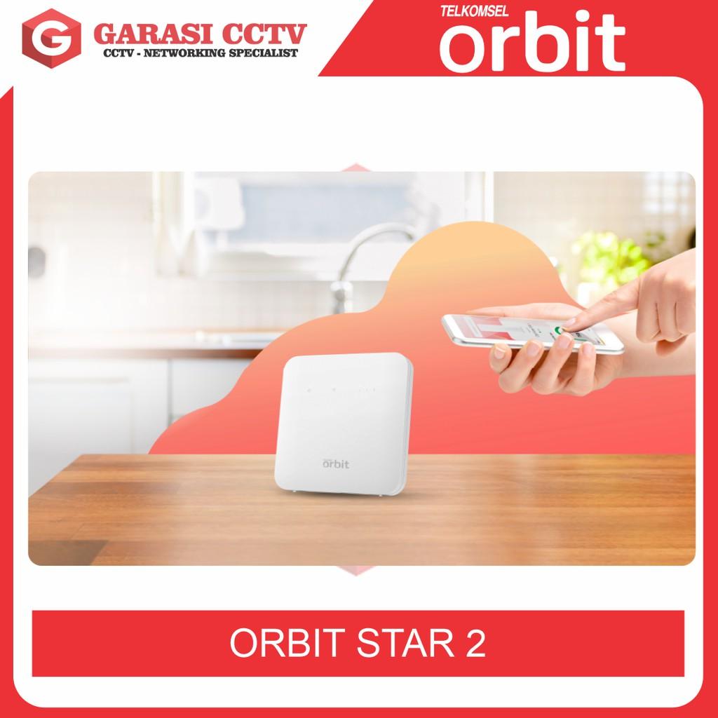 MODEM TELKOMSEL ORBIT STAR 2 NEW FREE 50GB + Antena