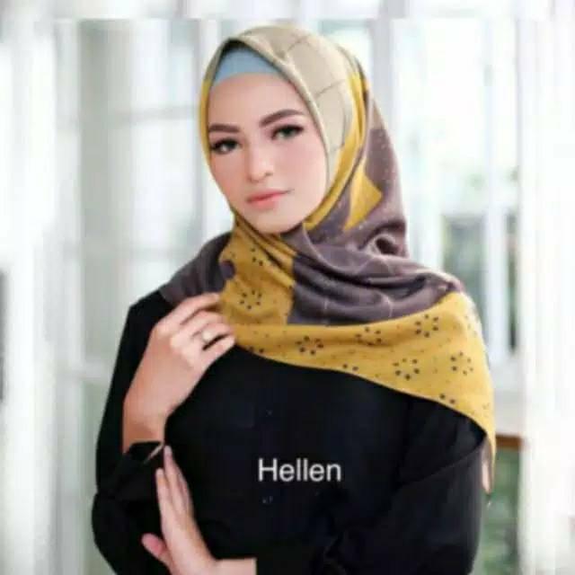 Kerudung Deenay Kw Terbaru 2020 Motif My Lady Hellen Voal Premium Scarf Shopee Indonesia