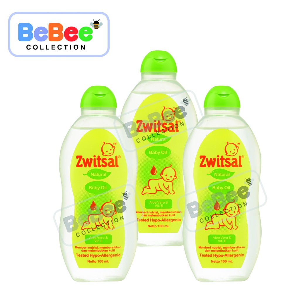 Zwitsal Baby Oil Natural 100 Ml Shopee Indonesia Twin Pack Guard Lotion Tube
