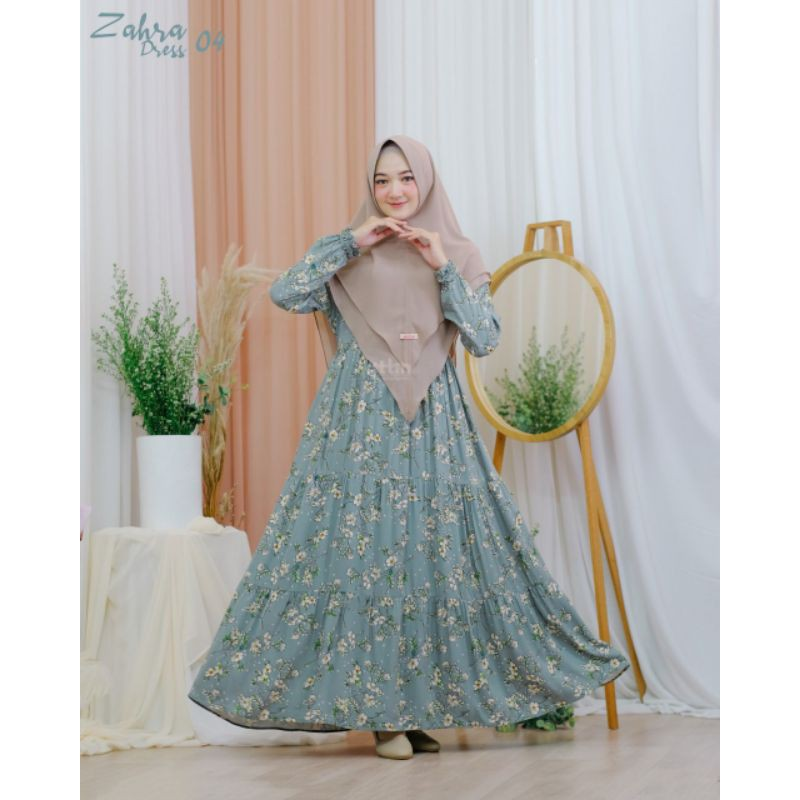 Gamis Zahra Dress Zahra By Attin Hijab