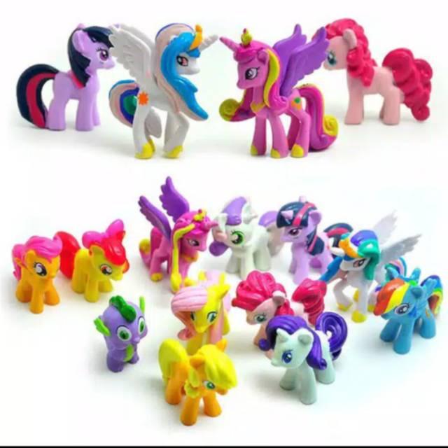 my little pony mainan anak  shopee indonesia