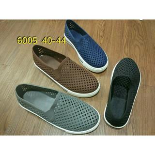Jual Murah jelly shoes sepatu pria luofu karet import slip on 6005 40 44  heels sneaker wedges flat 46c9c34d0d