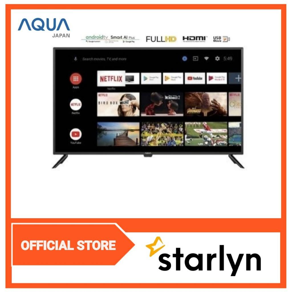 AQUA JAPAN Smart Android TV 43inch 43AQT1000U
