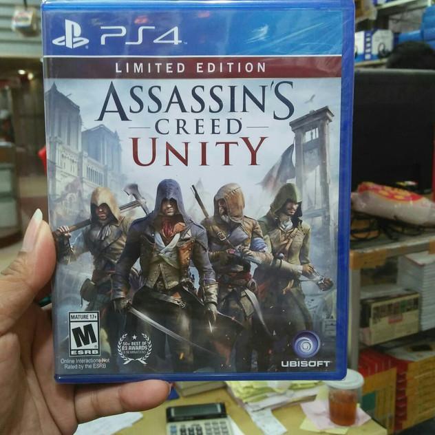 Lagi Murah Ps4 Assassins Creed Unity Zu 226 Shopee Indonesia