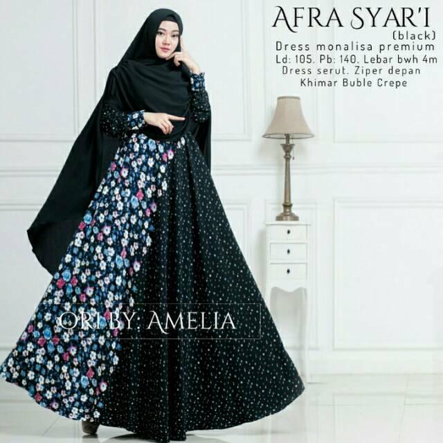 Gamis cantik monalisa wolfis busui soft moca set hijab syari terbaru   maxi  dress muslim wanita 57d69f71a9