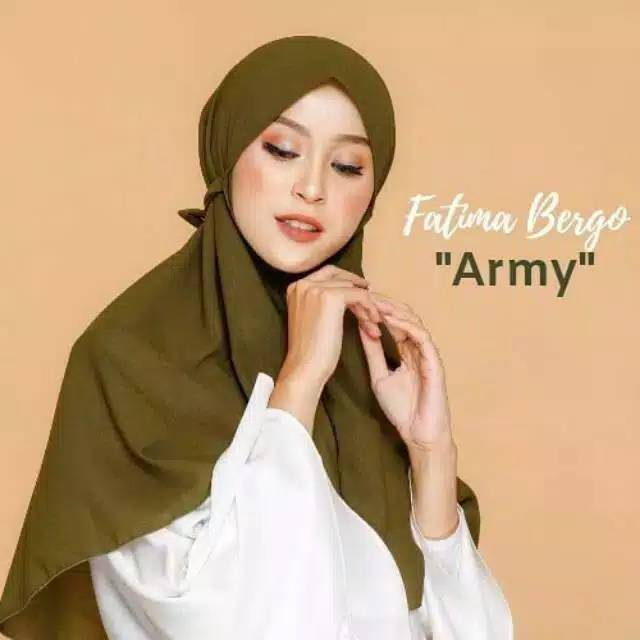 Khimar Tali Wolfis Bergo Maryam Bergo Nisma Shopee Indonesia