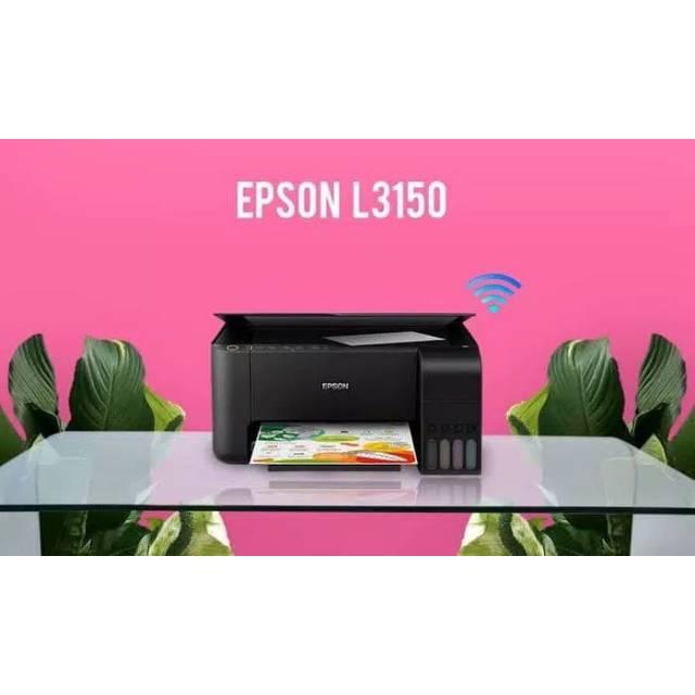 Printer Epson L3150 Wireless Print Scan Copy Wifi Original Epson L3150 Wifi Direct Shopee Indonesia