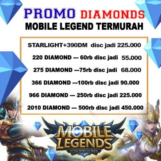 43 Koleksi Potret Mobile Legends Promo Terbaru Wallpaper Mobile Legend