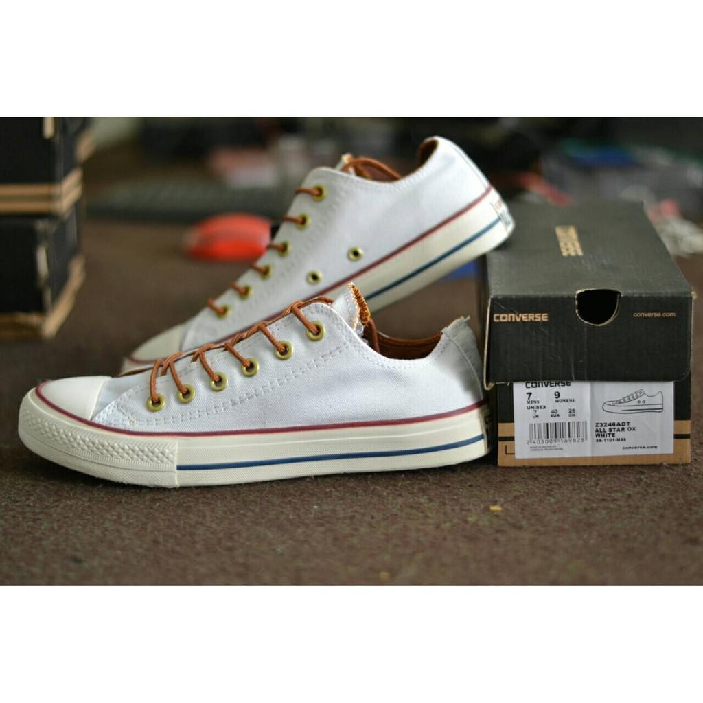 Sepatu Converse Putih Temukan Dan Penawaran Sneakers Converse Chuck Taylor All Star Ox White Made In