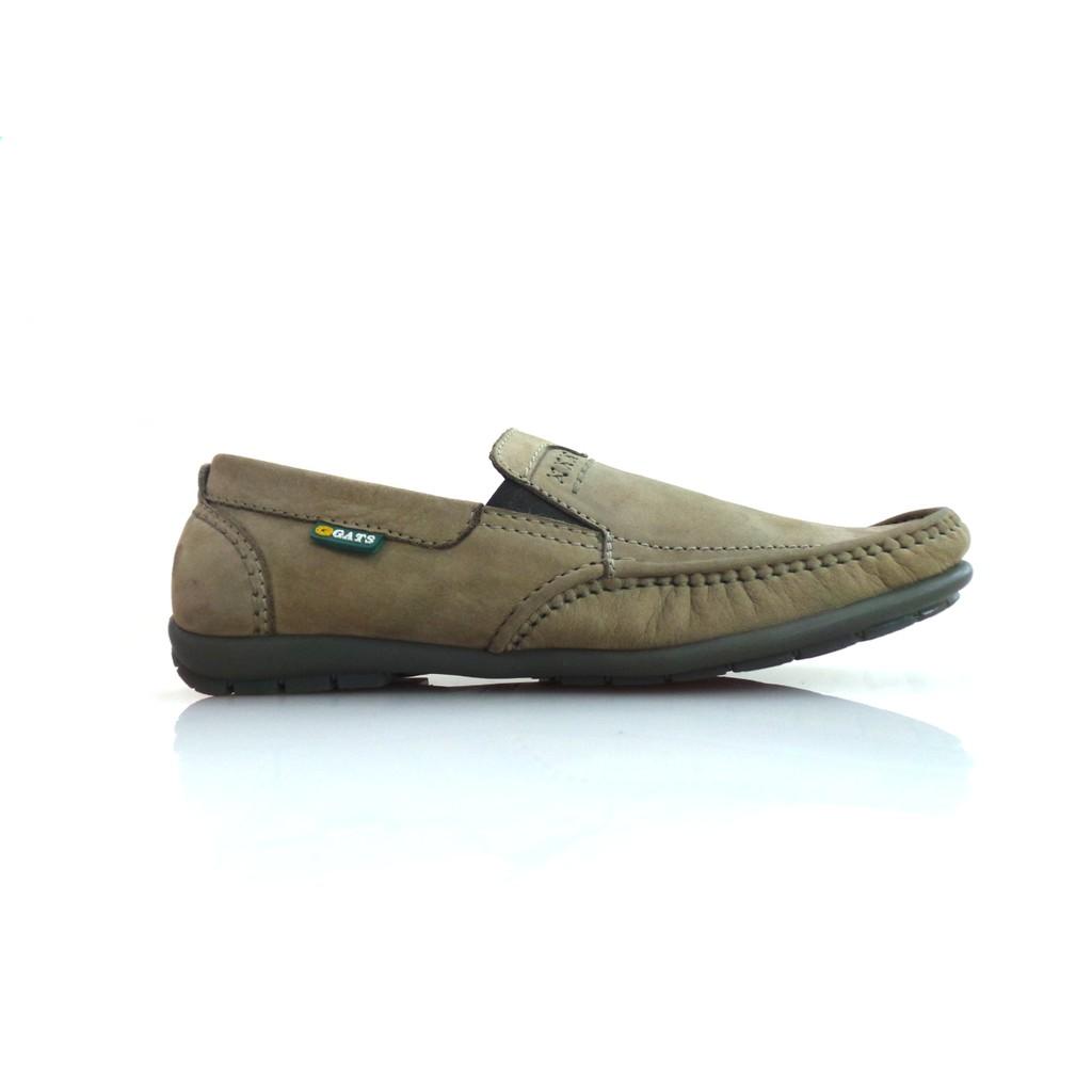 Sepatu GATS Kulit Casual Pria Keren Original Murah HK 0002 CAMEL ... 4c5eff7d55