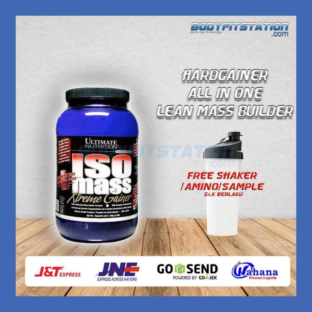 Ultimate Iso Mass Xtreme Gainer 35 Lbs 35lb 35lbs Isomass Prohybrid 5lbs Lb Shopee Indonesia