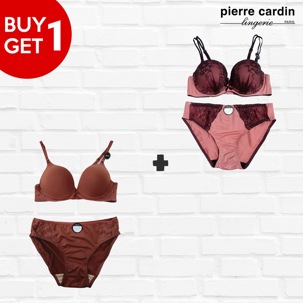 (Promo) Bra Set On Fire & Refined 707-73506B Pink ...