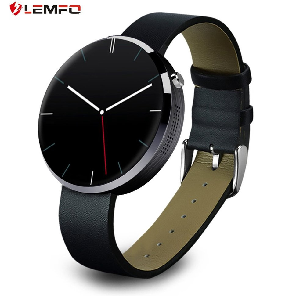 【9】LEMFO DM360 Waterproof Smart Watch Heart Rate Monitor Fitness Tracker