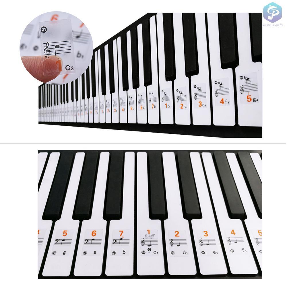 J F Cod 37 49 61 Keyboard Elektronik 88 Kunci Notasi Musik Warna Putih Shopee Indonesia