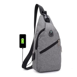 Best Seller Tas Slempang Selempang Anti Air Kanvas SPEN USB Charger Sling Bag Canvas Vr2 Waterproof | Shopee Indonesia