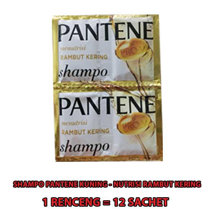SHAMPO PANTENE SACHET 1 RENCENG ISI 12 SACHET-KUNING