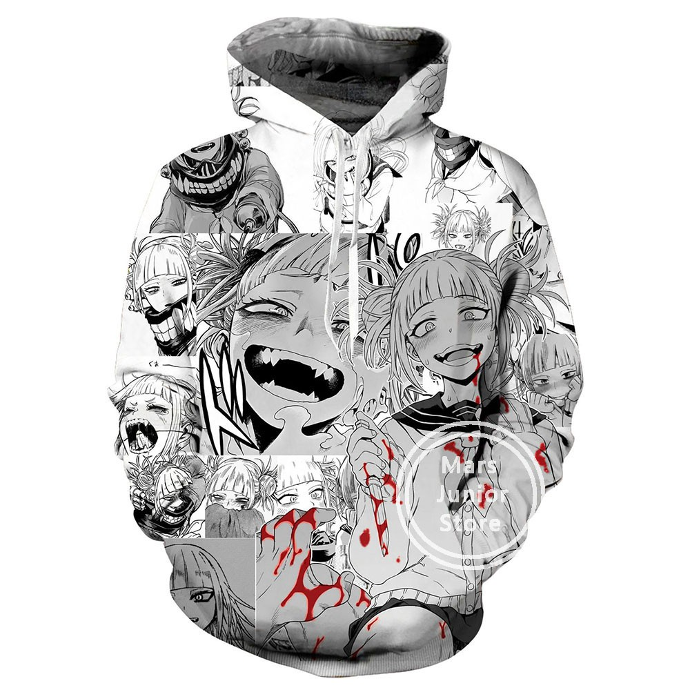 Anime My Hero Academia Boys Girls Hoodie Pullover Shirt Long Sleeve Sweatshirt
