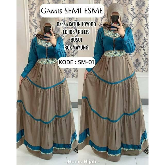 Gamis Esme Toyobo Shopee Indonesia