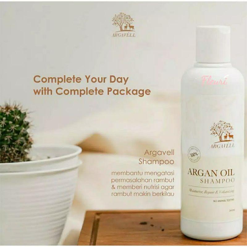 ARGAVELL ARGAN Oil Shampoo 240ml/Shampoo herbal / SHAMPOO ARGAVELL-2