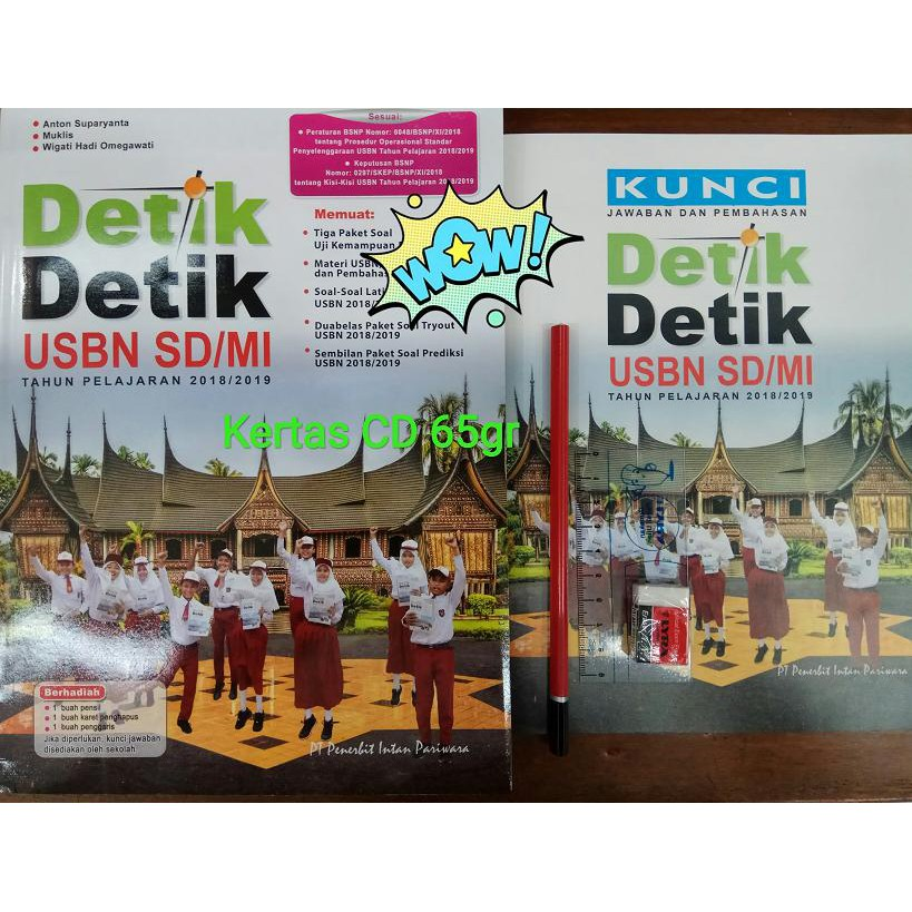 Kunci Jawaban Detik Detik Sd 2019 Ipa Try Out 2