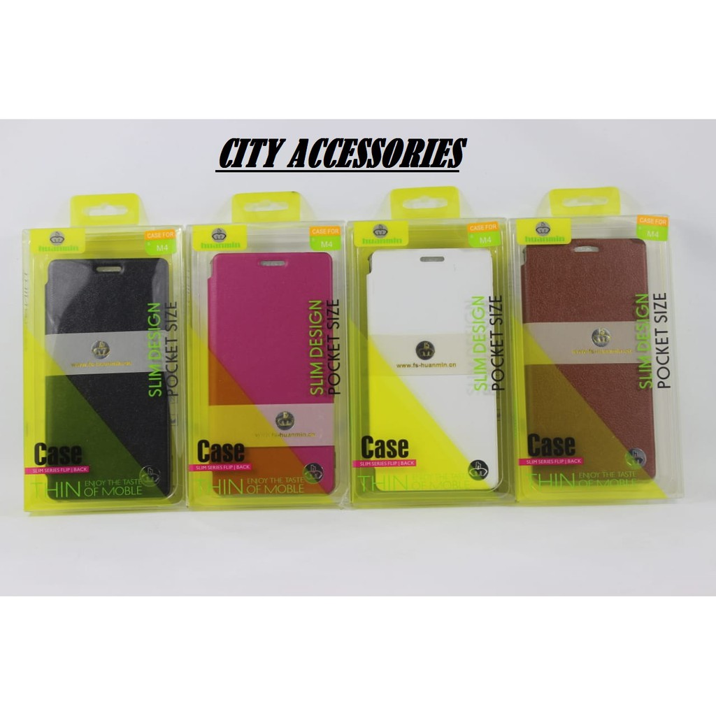 Flip Case / Flip Cover / Case for Sony experia M4 - Case Pocket Size
