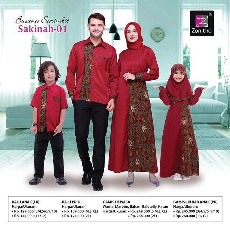 Sarimbit Keluarga Sakinah 01 Zenitha Busana Muslim Keluarga Shopee Indonesia