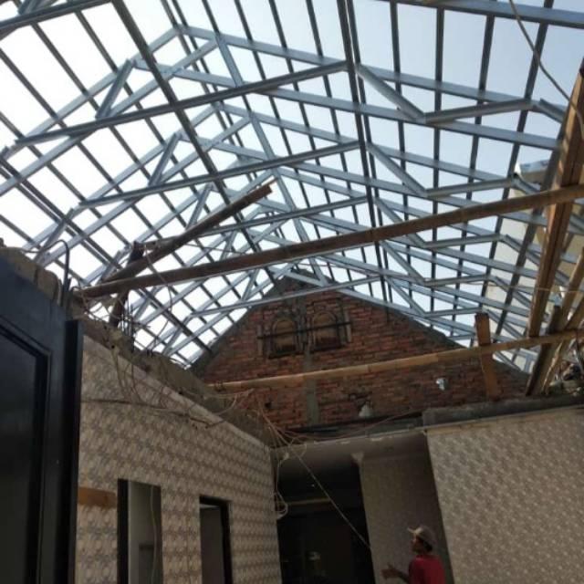 Rangka Atap Baja Ringan Dan Bongkar Pasang Rumah 081311981213