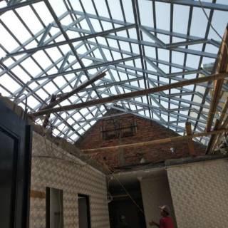 Rangka Atap Baja Ringan Dan Bongkar Pasang Rumah 081311981213 Shopee Indonesia