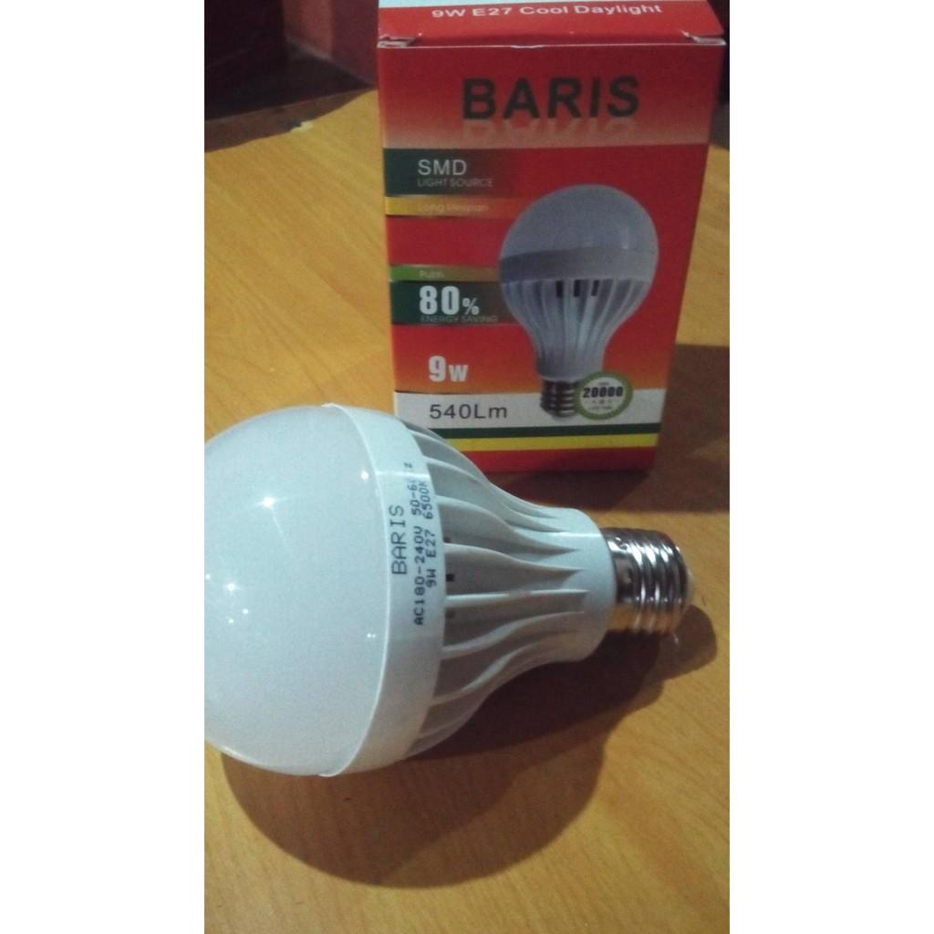 Lampu Led Dc 12v 3w Untuk Aki Solar Cell Emergency Emico Ekonomat Dese12 6w Panel Surya Kabel Capit Bohlam Accu Shopee Indonesia